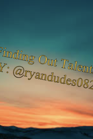 Finding out Talent