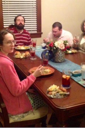 Dinner with Christians