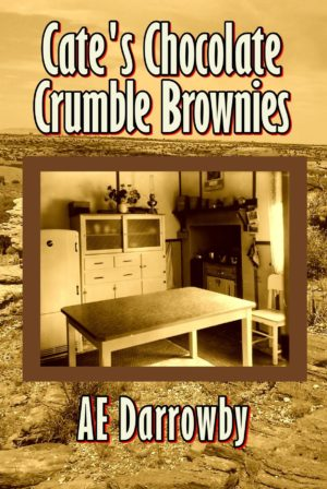 Cate's Chocolate Crumble Brownies